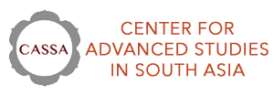 CENTER FOR ADVANCED STUDIES IN SOUTH ASIA